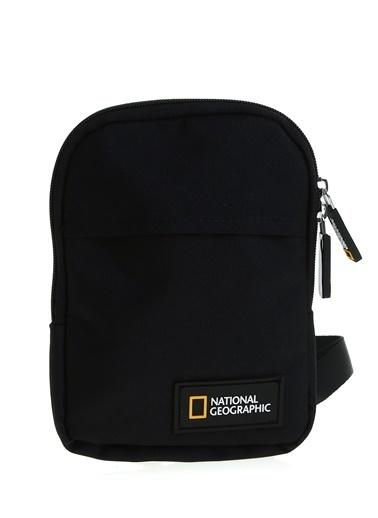 National Geographic Postacı Çantası Siyah